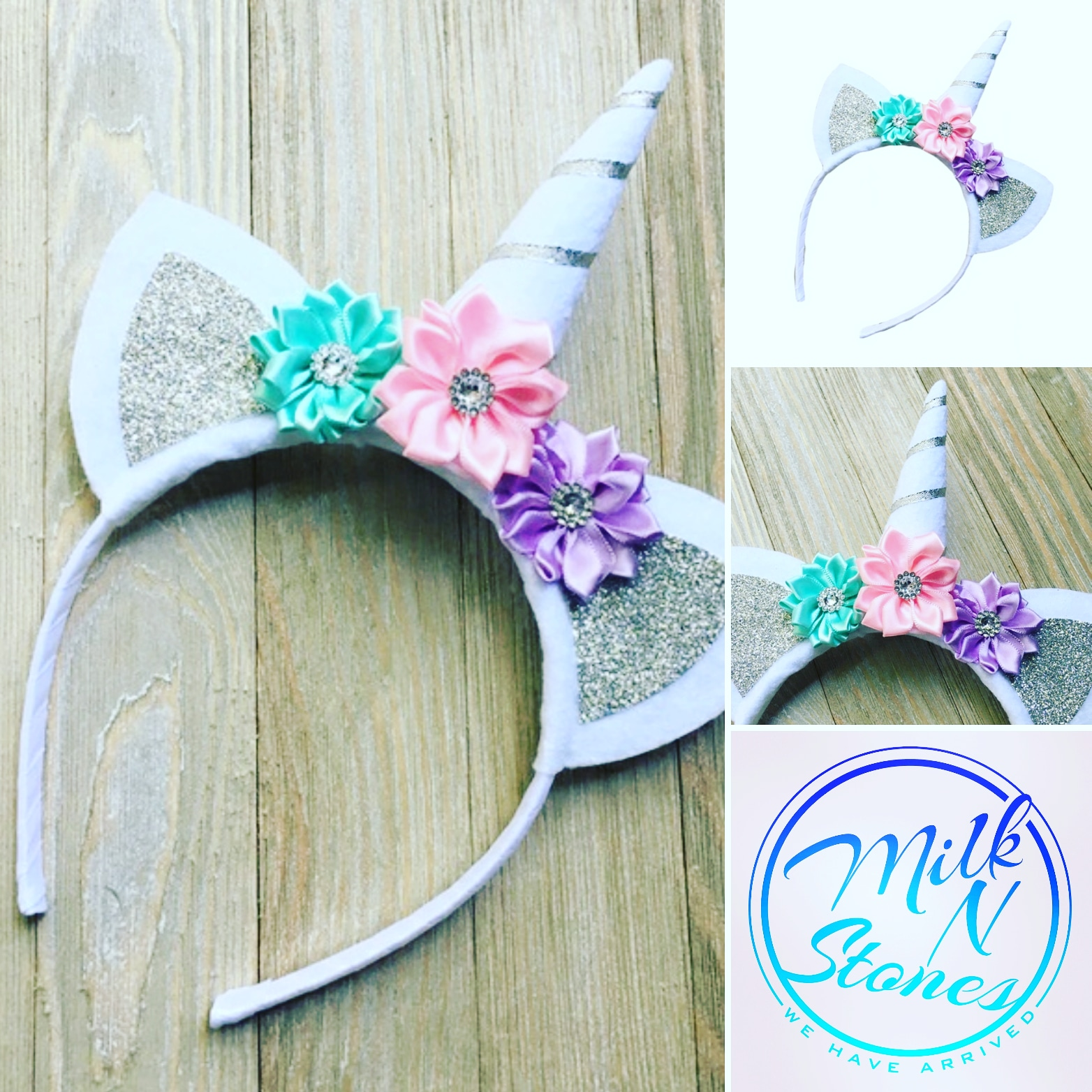 Sliver unicorn headband on Storenvy 809bc037de1