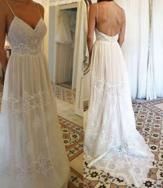 Spaghetti_Straps_Beach_Wedding_Dresses