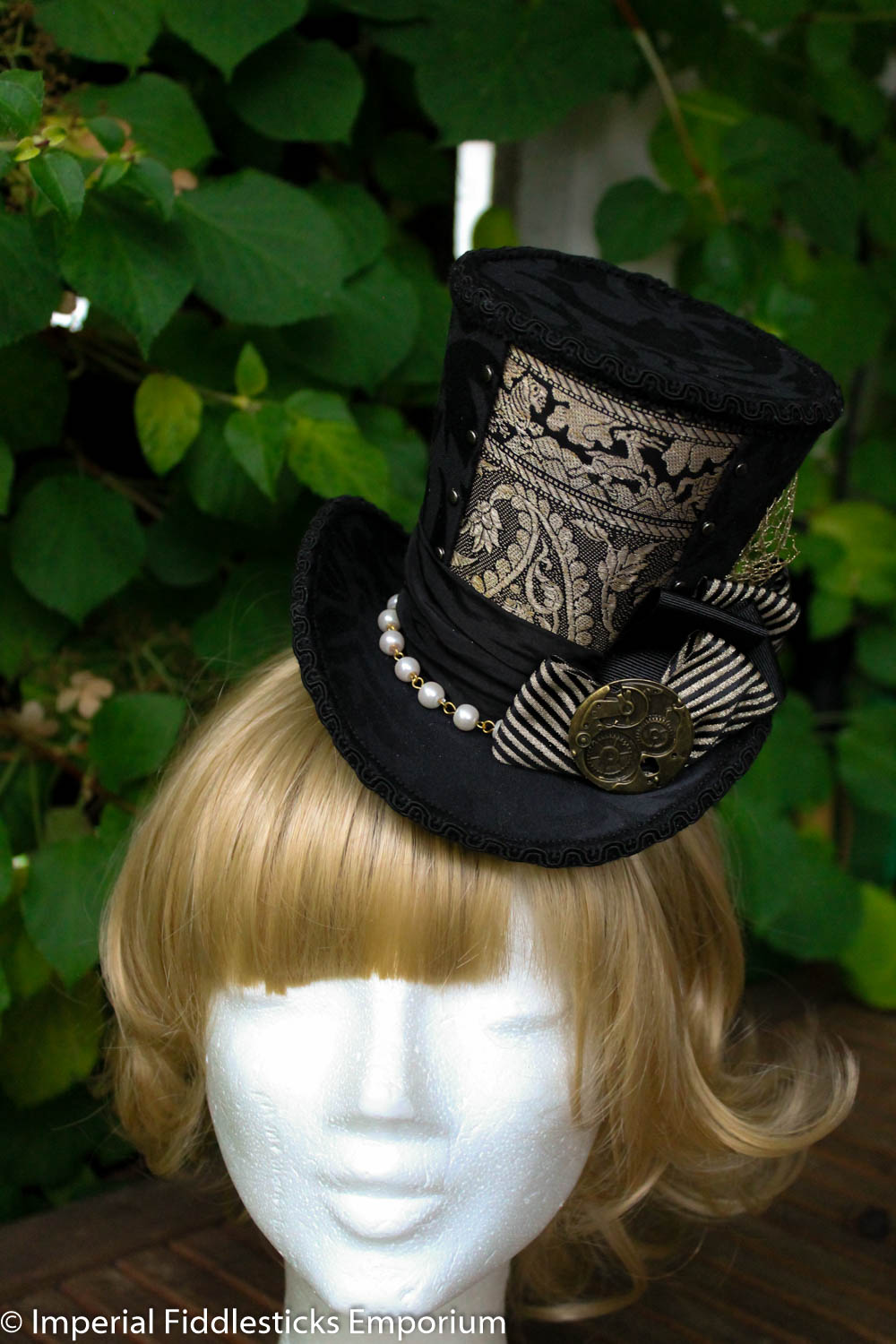 Goldenrod Topper - Wonky Top Hat - Steampunk · Imperial Fiddlesticks ... 431a3662053