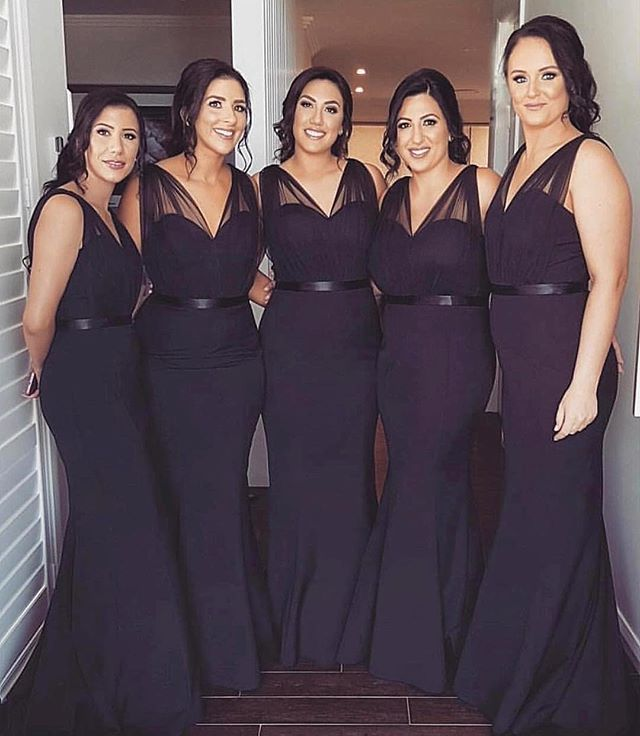 9a86a6fdf72 Navy blue bridesmaid dresses