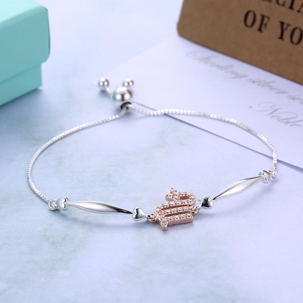 Scorpio Friendship Bracelet Sterling Silver from Doonau