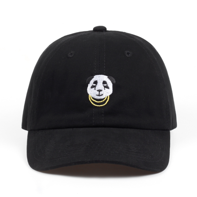 32c30b1e6a0 PANDA GANG CAP IN BLACK on Storenvy