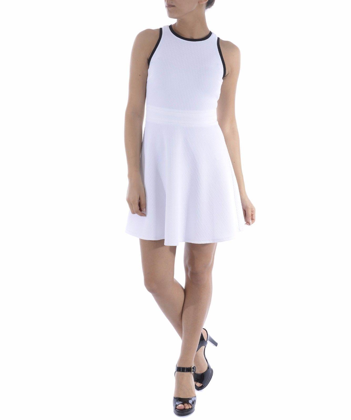 246ab0d75b Pinko White Women Dress Tiziano Abito ZZ1 Bianco Nero on Storenvy