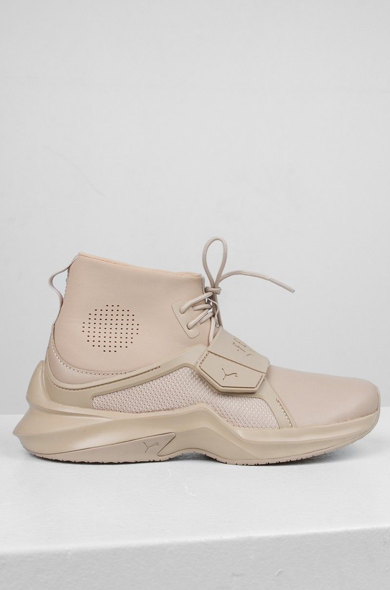 the best attitude 03d8c 1af43 Puma x Fenty Rihanna Trainer Hi by Fenty Mens Sesame Shoes Brown sold by  xperience