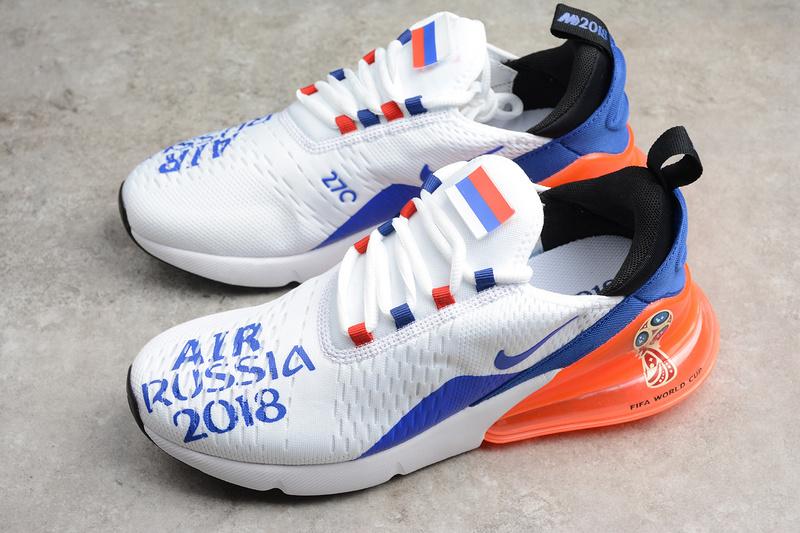 Fashion Nike Air Max 270 Russia 2018 Running Shoes AQ7982-406 on ... 01a9c2e32