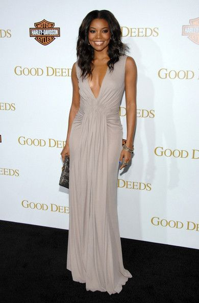 Inspired_by_Gabrielle_Union_Celebrity_Dresses_A_Line_Chiffon_Sexy_Deep_V_Neck_Ruched_Pleat_Prom_Dresses_Evening_Formal_Gowns