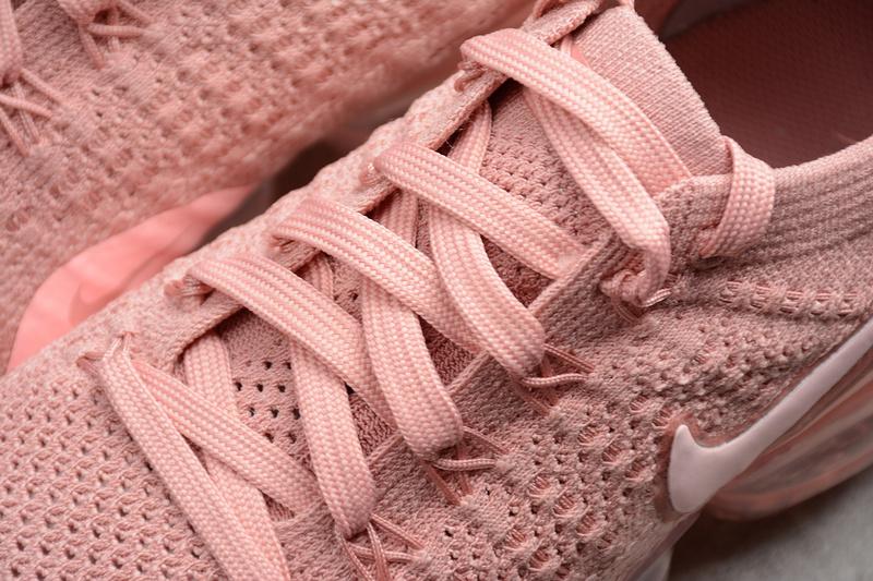 2871a05962 ... Nike Air VaporMax Flyknit 2 pink Wn's Running Shoes 942843-600 -  Thumbnail 4