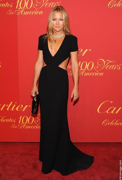 Inspired by Kate Hudson Celebrity Dresses Black Mermaid ...