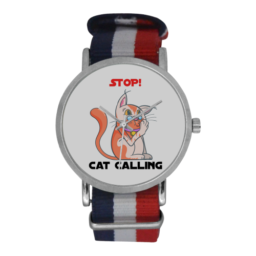 Sara the Sarcastic Cat Stop Cat Calling Watch