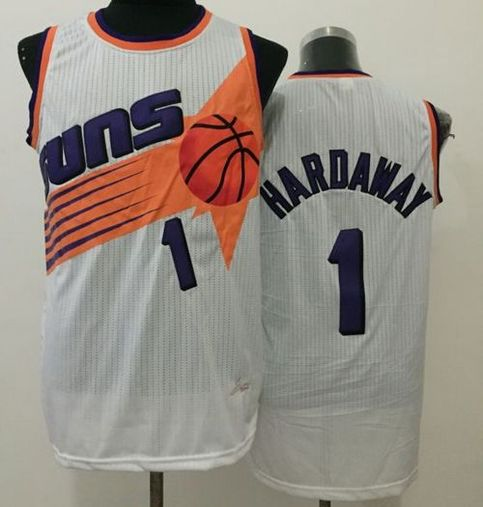 new style ced10 61c65 Suns #1 Penny Hardaway White Throwback Stitched NBA Jersey sold by  NBAJerseysales1