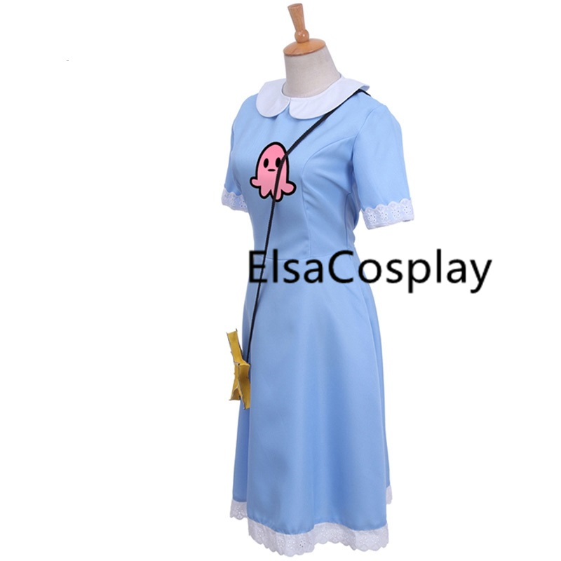 Inhumans Cosplay Medusa Costume Women/'s Dress Halloween Clothes Custom Made
