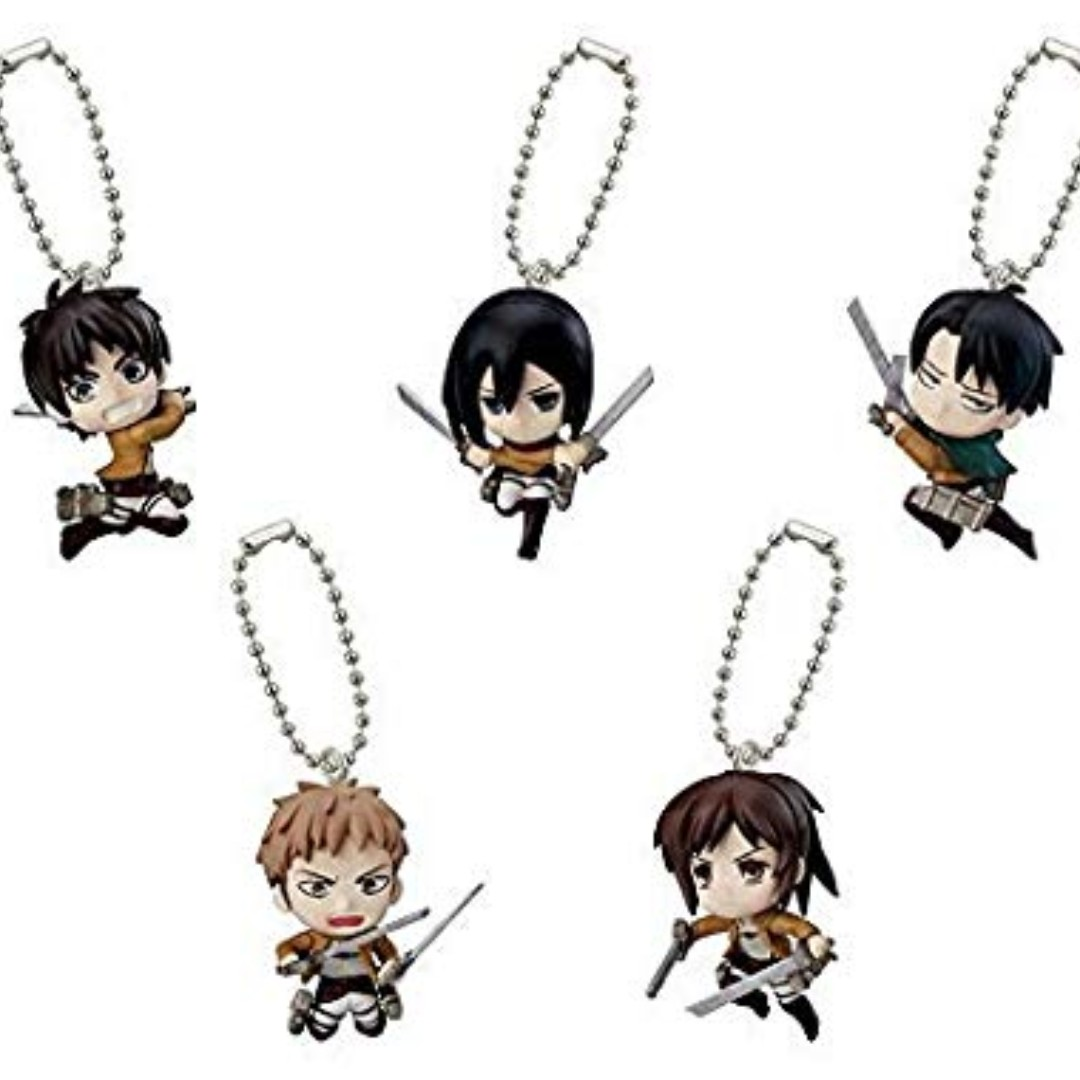 Attack on Titan Swing Keychain Titan Figure