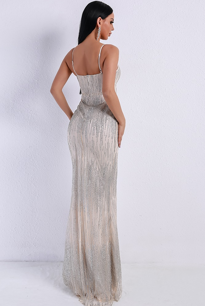 fdc38b2274 Isabelle Silver Evening Gown · somethingshelikes · Online Store ...