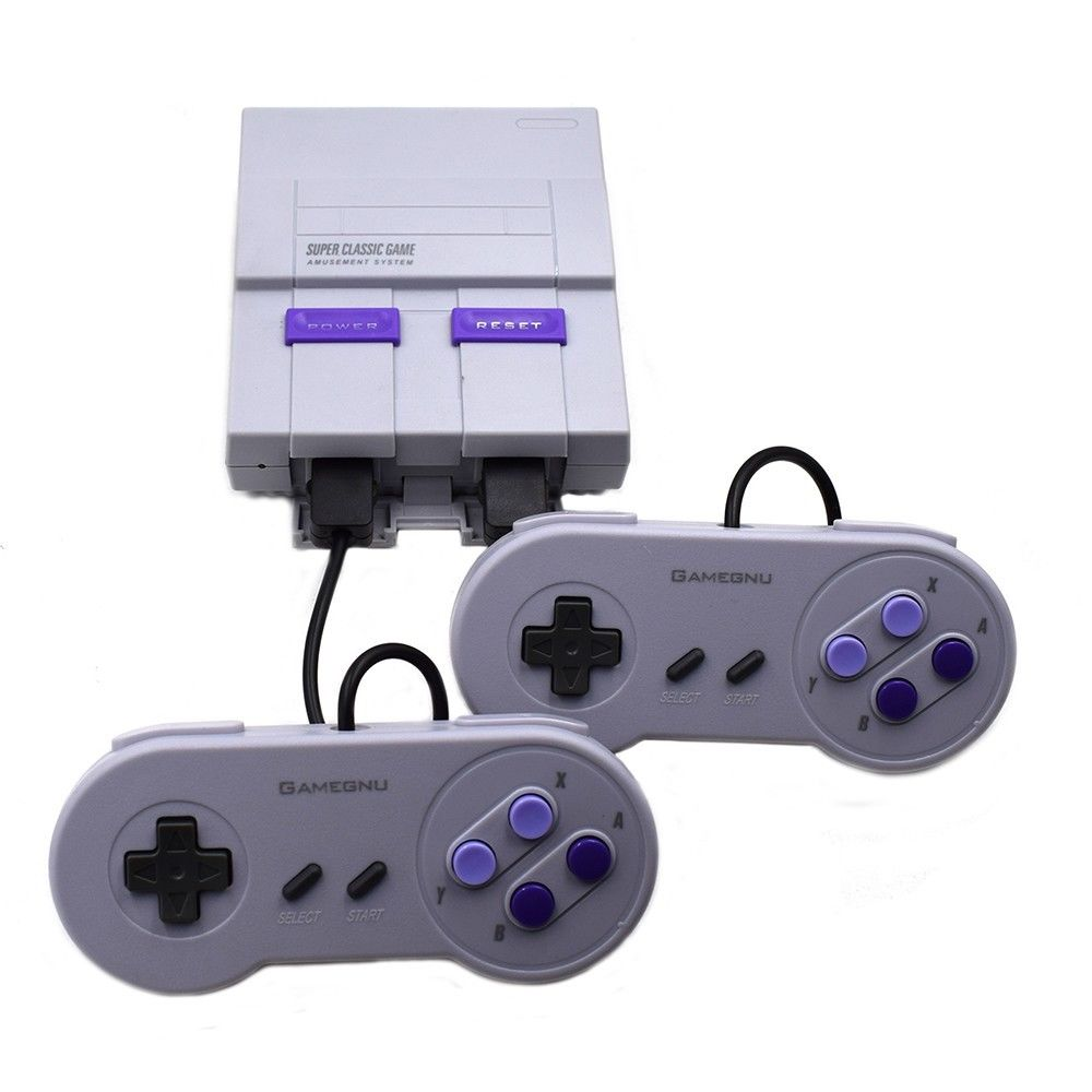 Video Game Console SNES Mini SFC Retro Built-in 400 Games sold by Beshry