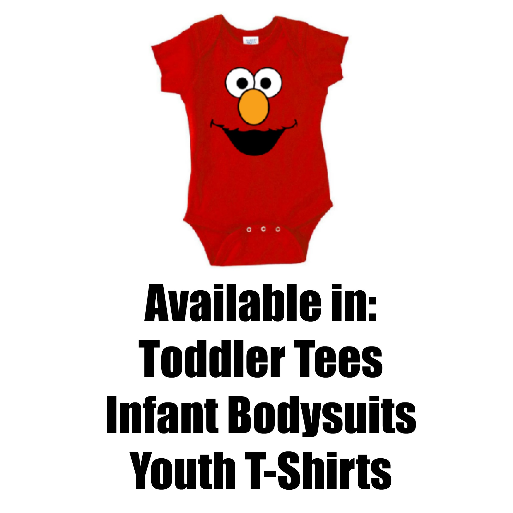 5b25c09e3 Sesame Street Elmo Face Toddler Tee Shirt on Storenvy