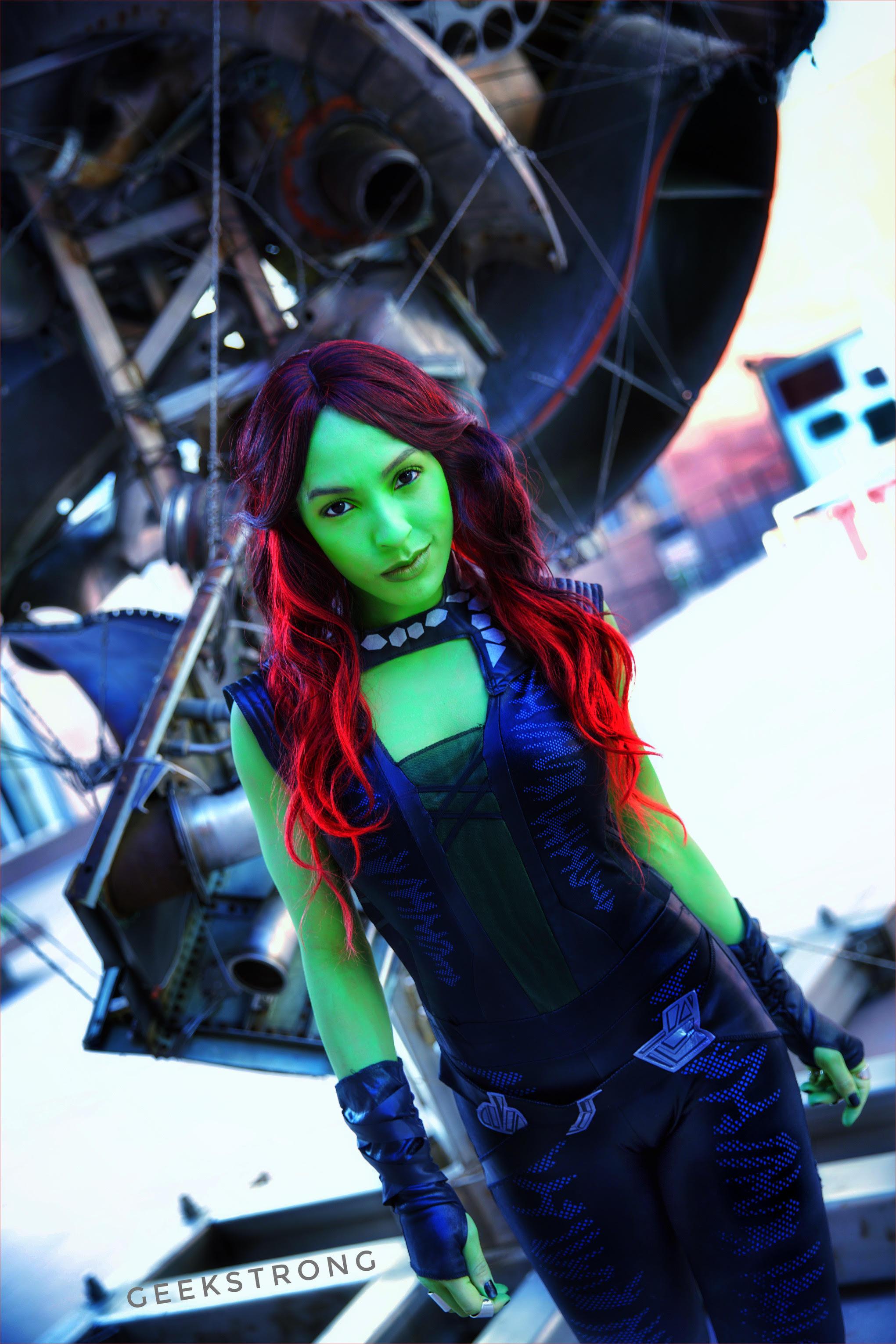 Gamora cosplay by Sara Moni   AIPT