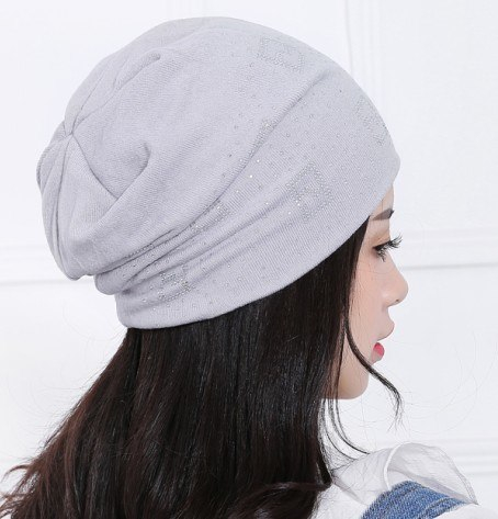 ae20d01bcaa ... 2018 Beanie Hats For Women Beanies Autumn And Winter Brand Knitted Hat  Turban Diamond Skullies Hip ...