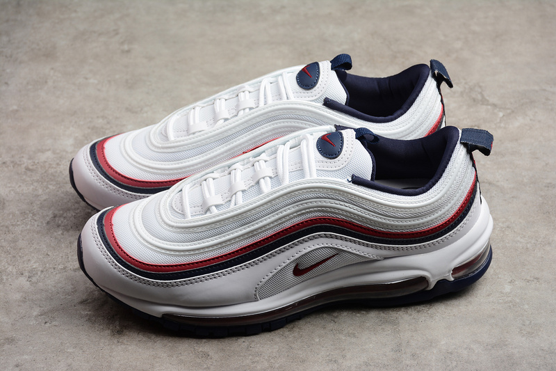 500b0bd0e4d Nike Air Max 97 Black Red White Shoes 921733-102 on Storenvy
