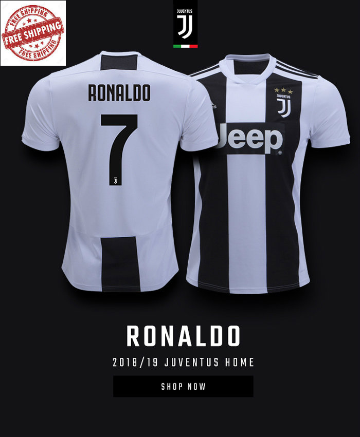 newest 33d95 7272b Ronaldo juventus jerseys Men 2018-19 from SportsWorld2016