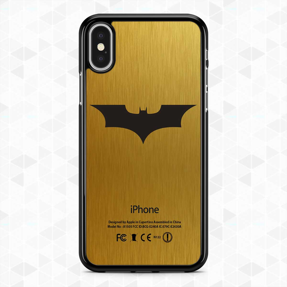 save off b5042 42dae Best!Batman!Logo!Gold875S Phone Case iPhone XS Max X 8 Plus 7+ XR 6s+ Case  Samsung S9+ S9 S8+ S8 Note 9 8 5 Cases