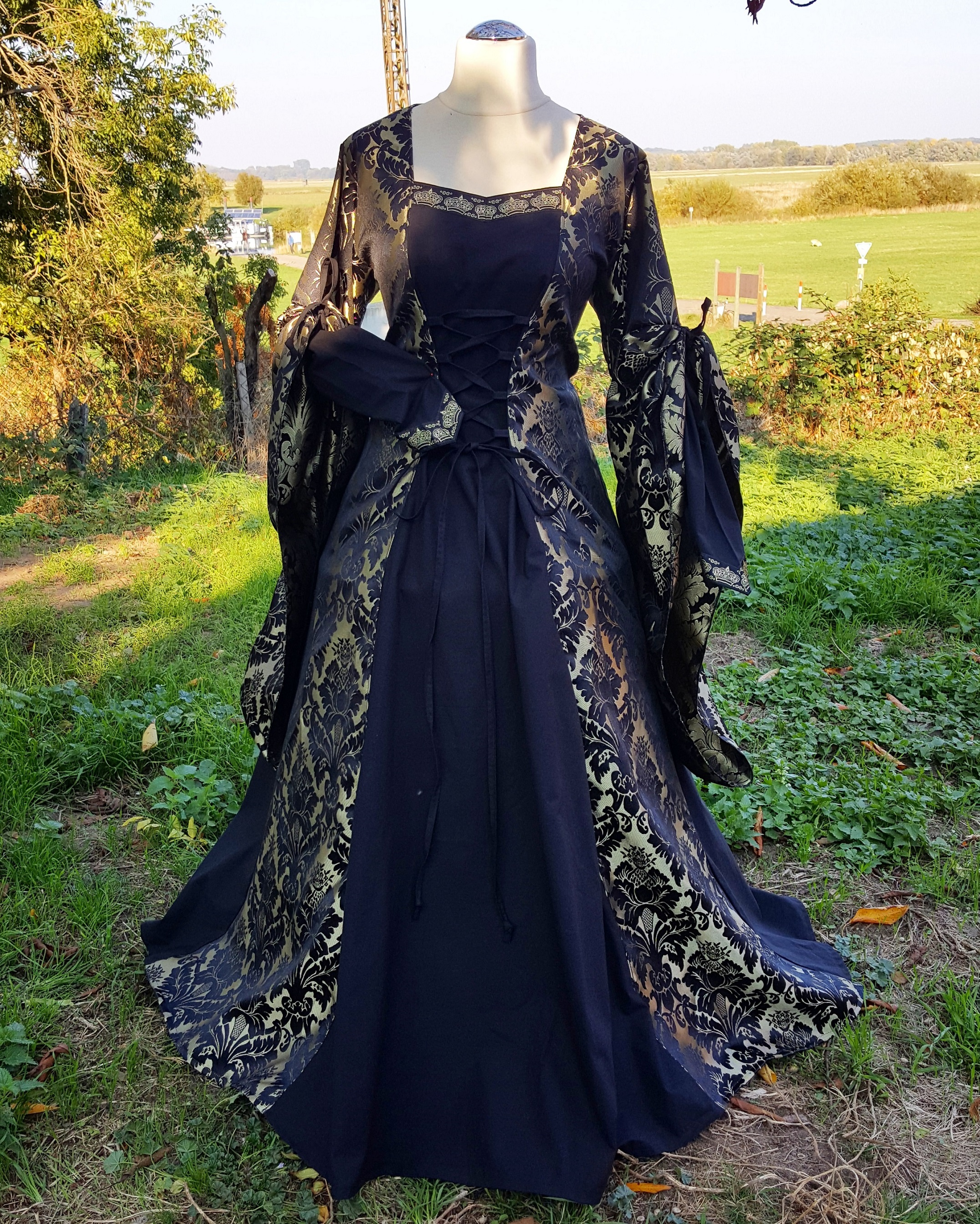 Renaissance Dress Handfasting Elven Medieval Gown On Storenvy