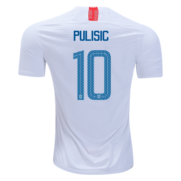 official photos c96ae a7240 PULISIC #10 USA Men's National Team Home Soccer Jersey Red,USMNT Soccer  Stadium Shirt from HoHo Jersey Collection