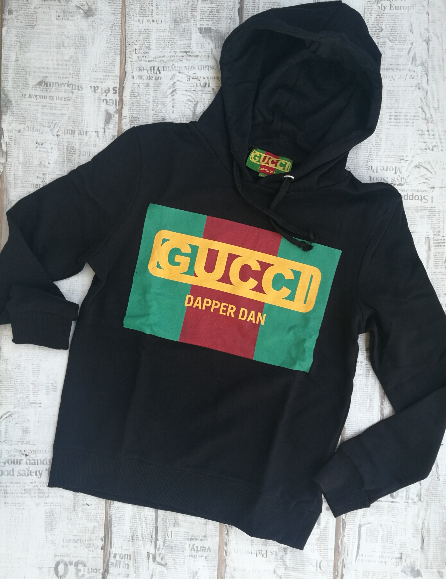 0b6e8c2aa Gucci Dapper Dan Hooded Cotton Men's Sweatshirt on Storenvy