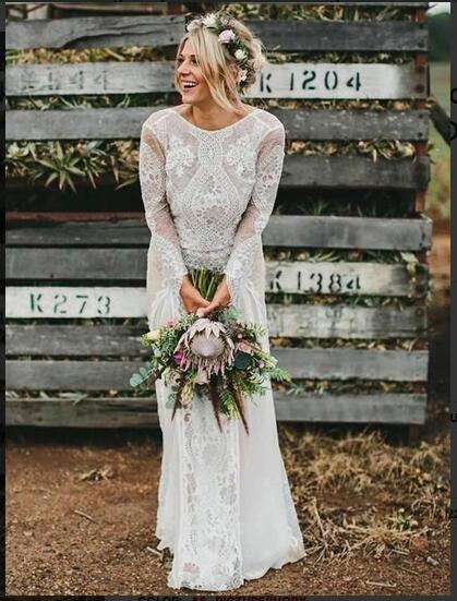 Long_Sleeve_Ivory_Lace_Wedding_Dresses_See_Through_Backless_Boho_Wedding_Dresses