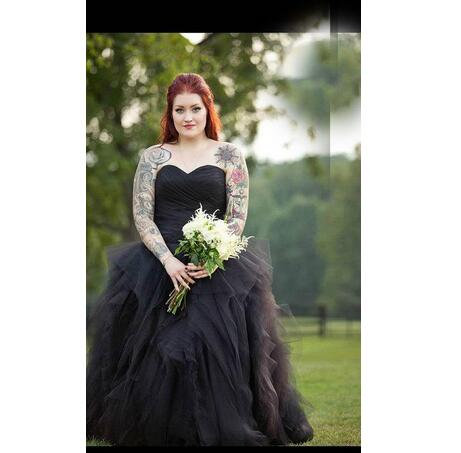 Vintage Ball Gown Princess Sweetheart Pleat Ruched Plus Size Wedding ...