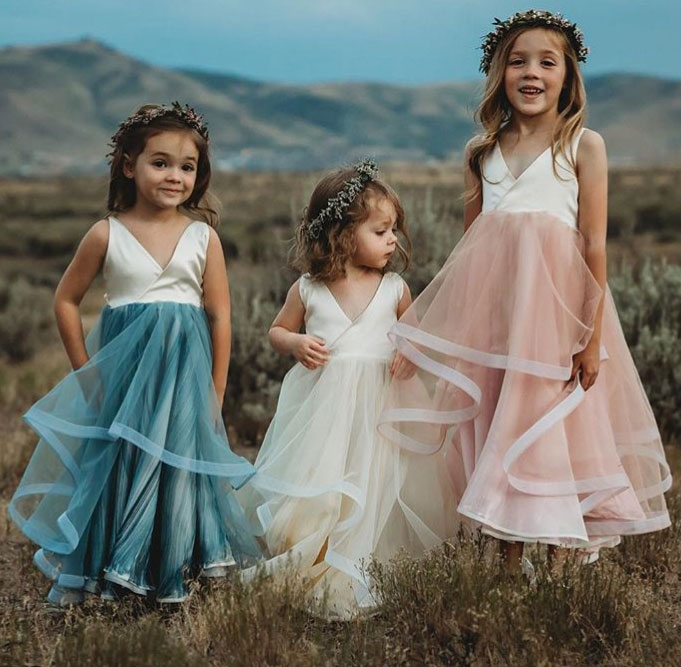 V_Neck_Sweet_Flower_Girl_Dresses_for_Wedding