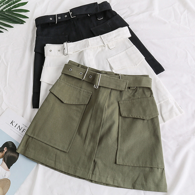 16c73bb9ef Pocket Lace Up Suede Skirt (5 Colors) · Megoosta Fashion · Free ...