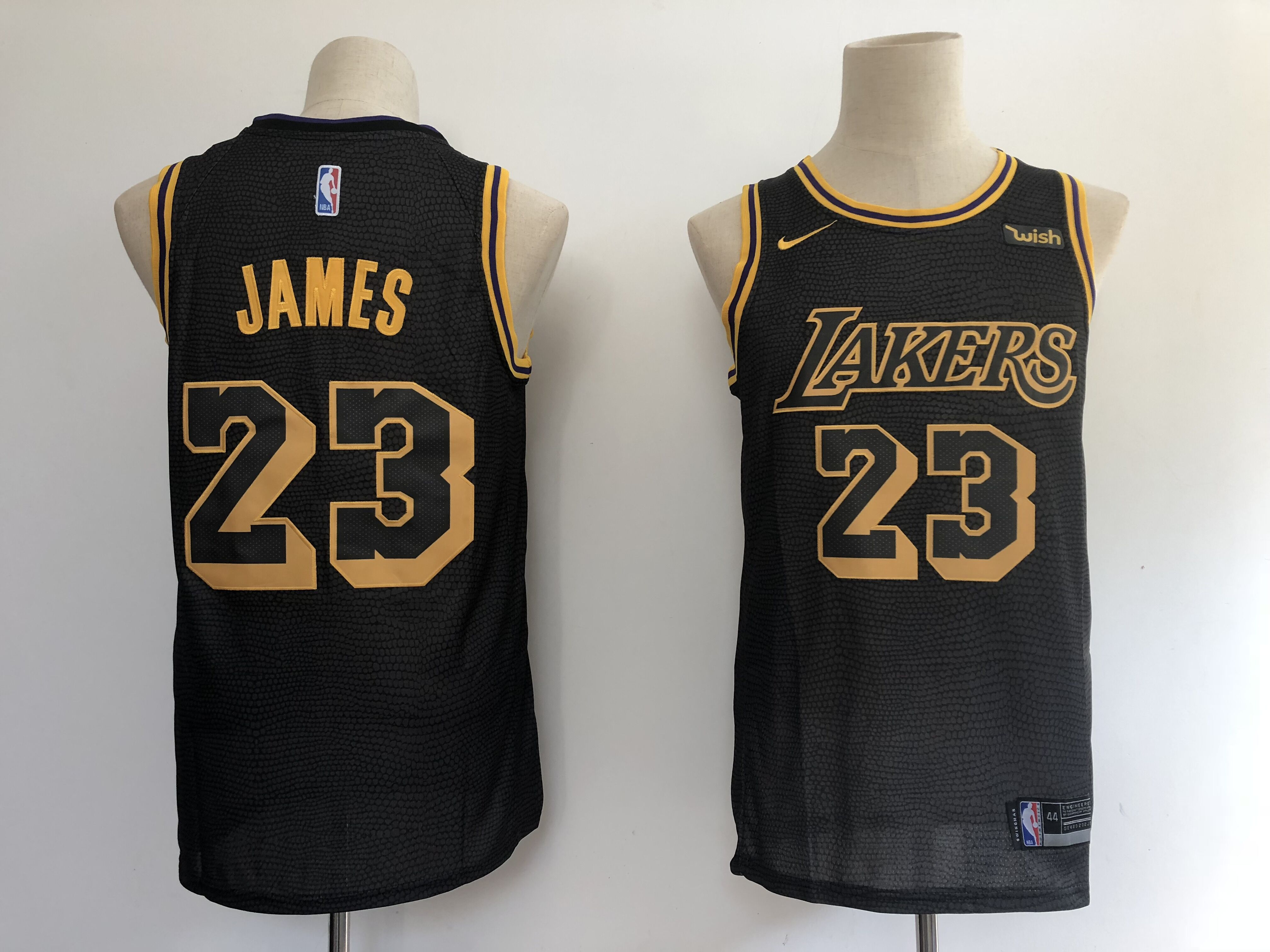 premium selection 77732 64653 Men's Los Angeles Lakers #23 LeBron James Basketball Jersey from  teamjerseyinc