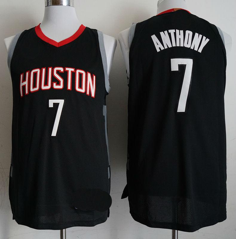 Men s Houston Rockets  7 Carmelo Anthony Basketball Jersey ... 905087b36