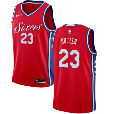 new styles 7cb89 1f2d2 2019 Men's Philadelphia 76ers #23 Jimmy Butler Basketball Jersey from  teamjerseyinc