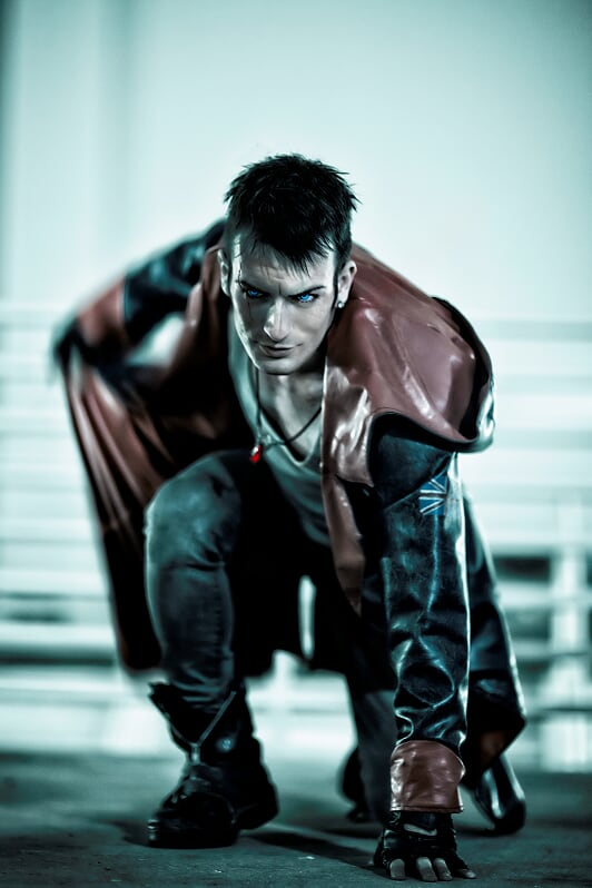 Dante Dmc Devil May Cry Deluxe Edition From Leon Chiro Cosplay Art