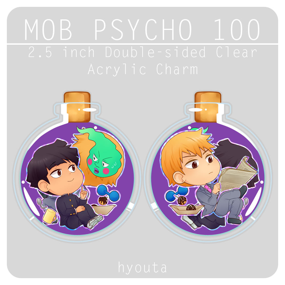 [ MOB PSYCHO 100 ] ★ Double Sided Charm from hyouta