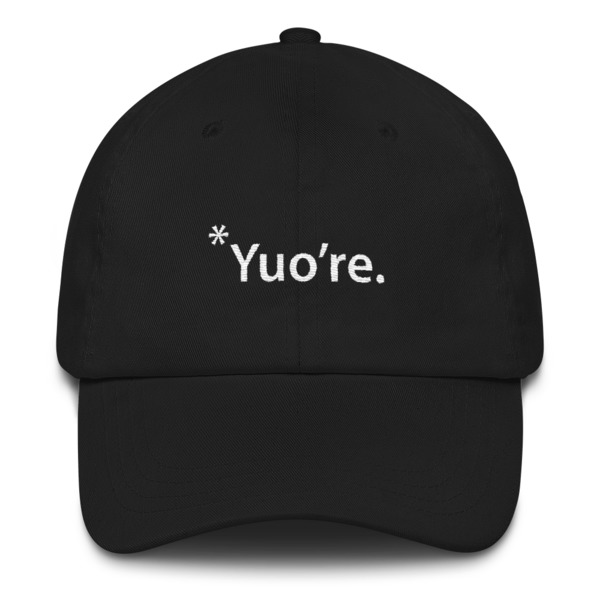 220bd7f5854 Embroidered  Yuo re hat on Storenvy