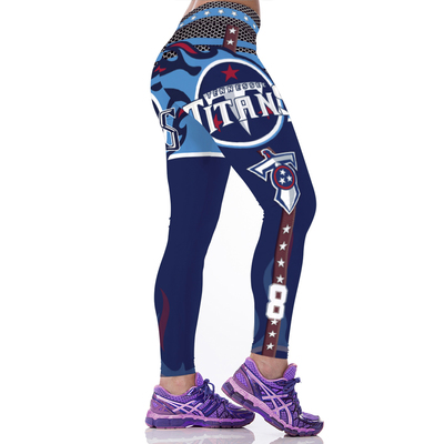big sale 31646 a8e34 Tennessee Titans Sports and Fitness Workout Football Leggings from SPORTS  HUNTER (Pls read FAQs)