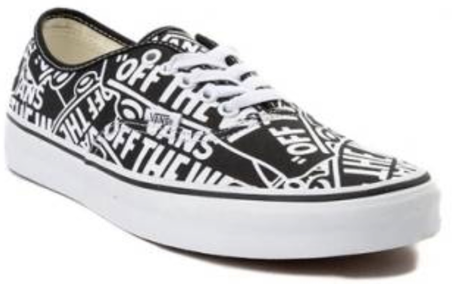 febd498f51d1 Vans Authentic Off The Wall Skate Shoe Black on Storenvy