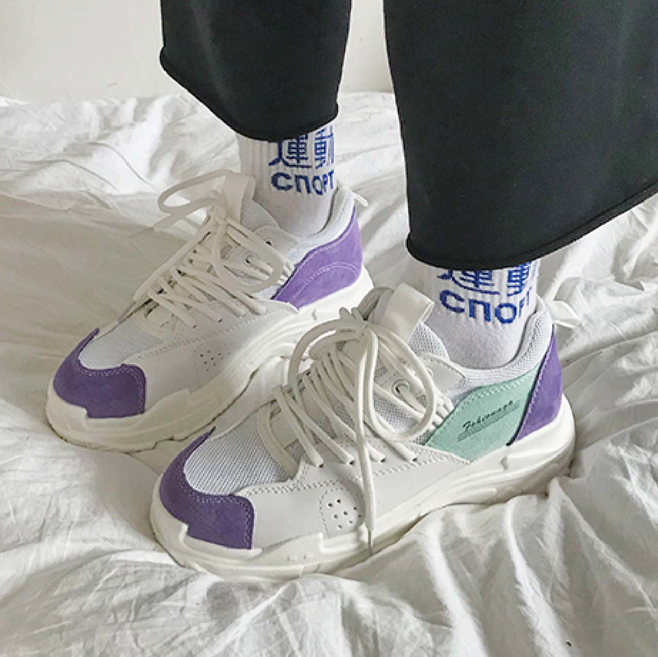 957664912cec Free Shipping-90s CHUNKY SNEAKERS IN PURPLE · NEW ARRIVAL · Online ...