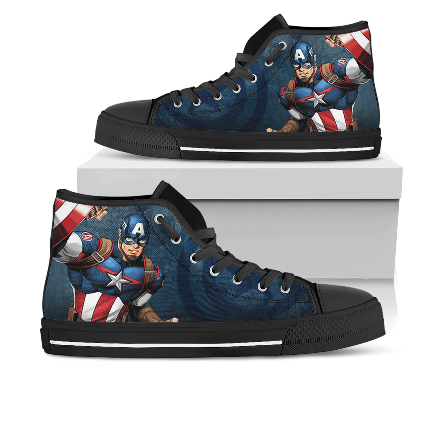 97e6c7e04d0e Captain america sneaker running shoes sneakers look like converse ...