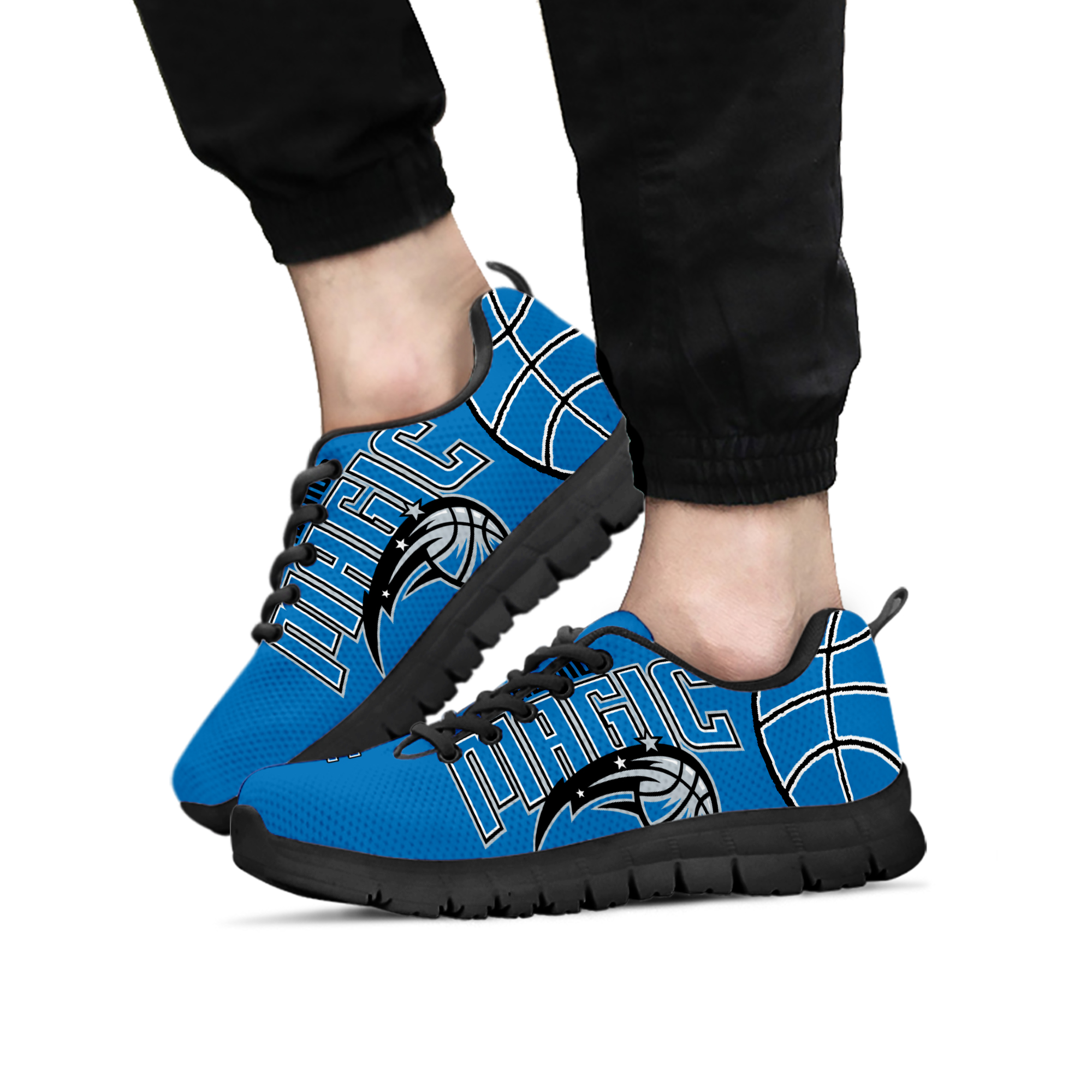 Orlando magic fan custom unofficial running shoes sneakers trainers -  ladies f967be0028