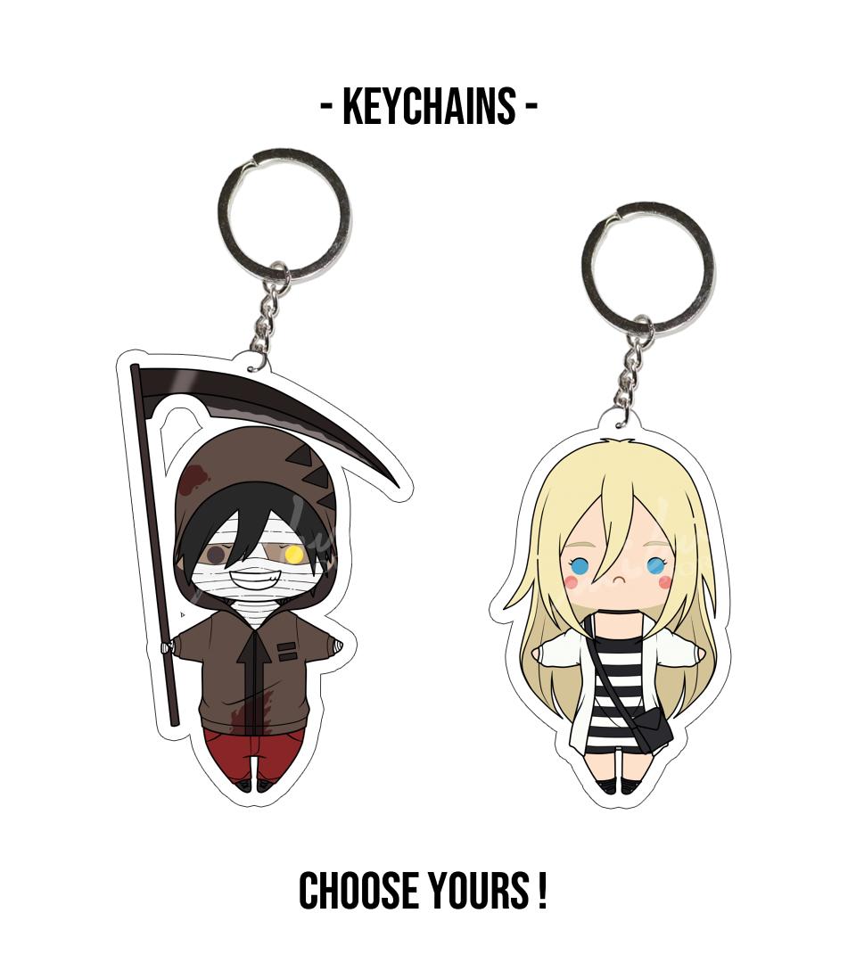 PRE-ORDER: Satsuriku No Tenshi - Acrylic Keychain from MibuStore