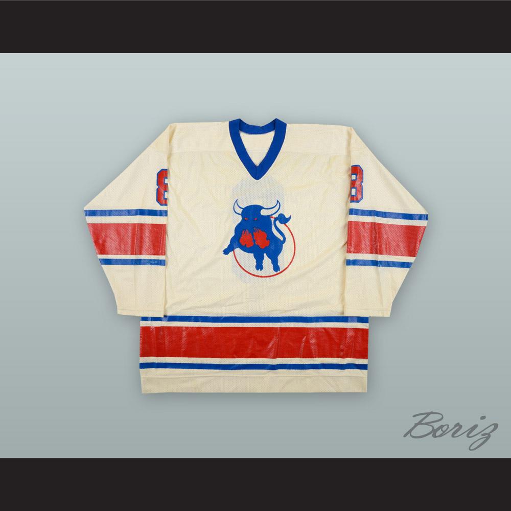 Yves Dandurand 8 Birmingham Bulls White Hockey Jersey · acbestseller ... c8bc01faa38