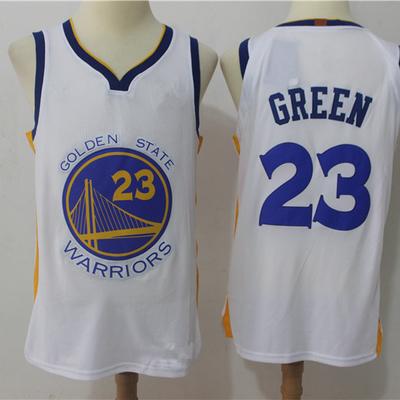 1bef990430c Men s golden state warriors 23 draymond green white basketball jersey