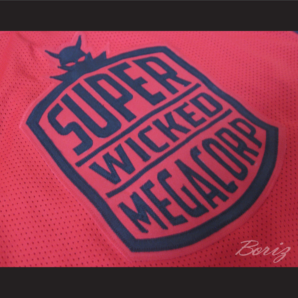8162eb6b0 ... Super Wicked Megacorp 69 Destroyer Basketball Jersey Any Size NEW -  Thumbnail 3 ...