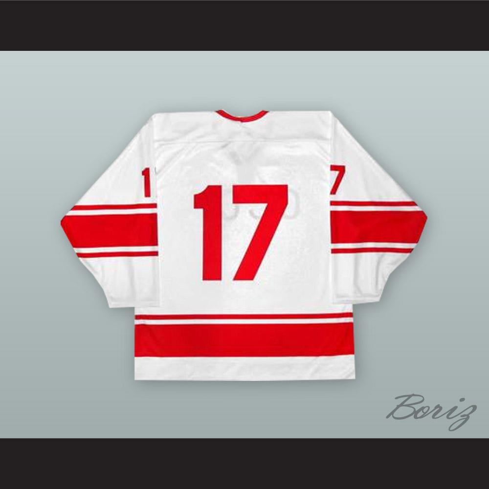Valeri Kharlamov 17 Soviet Union CCCP National Team White Hockey Jersey on  Storenvy c3175db74
