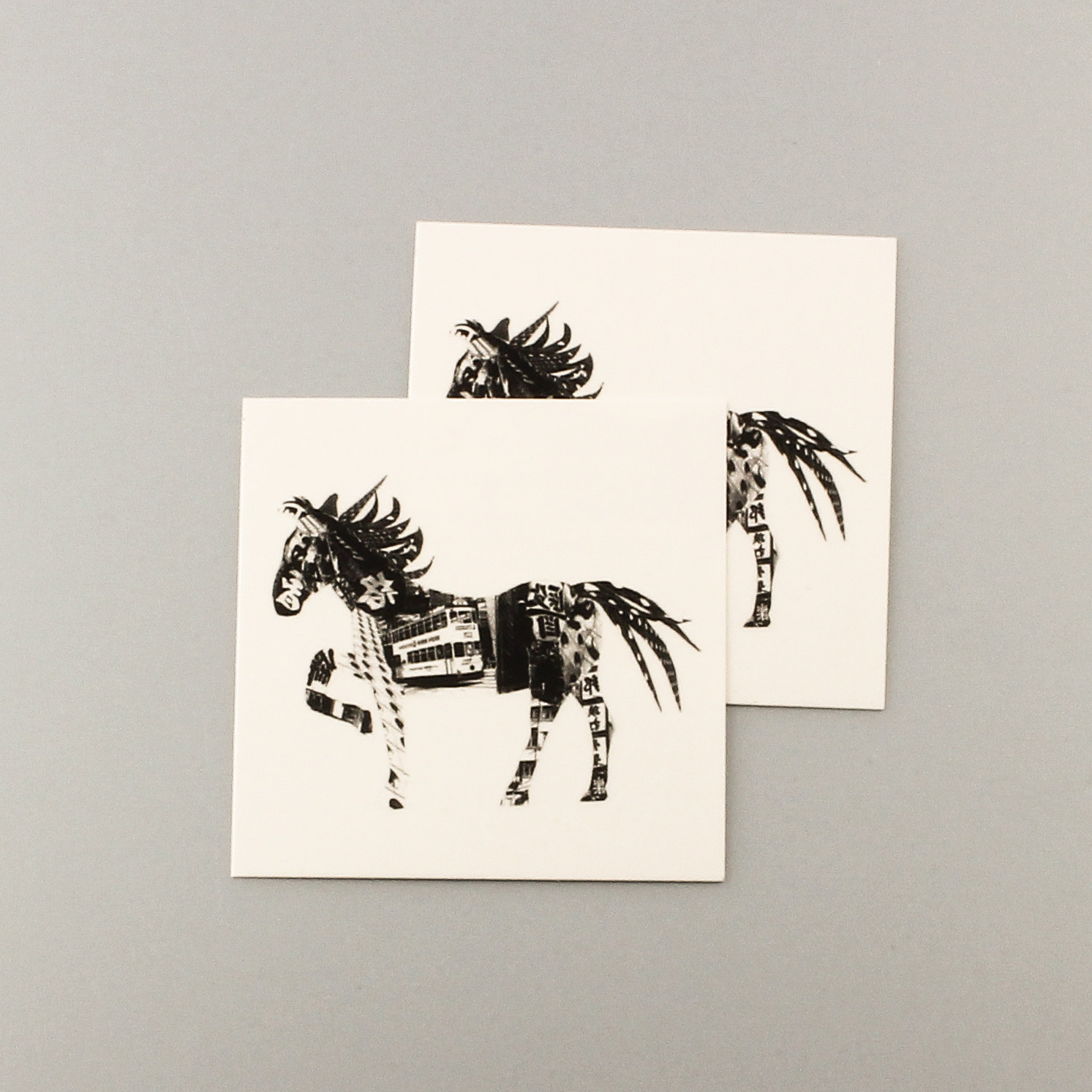 Chinese Zodiac Horse Tattoo Small Set Sold By Bodinker Tattoo On Storenvy