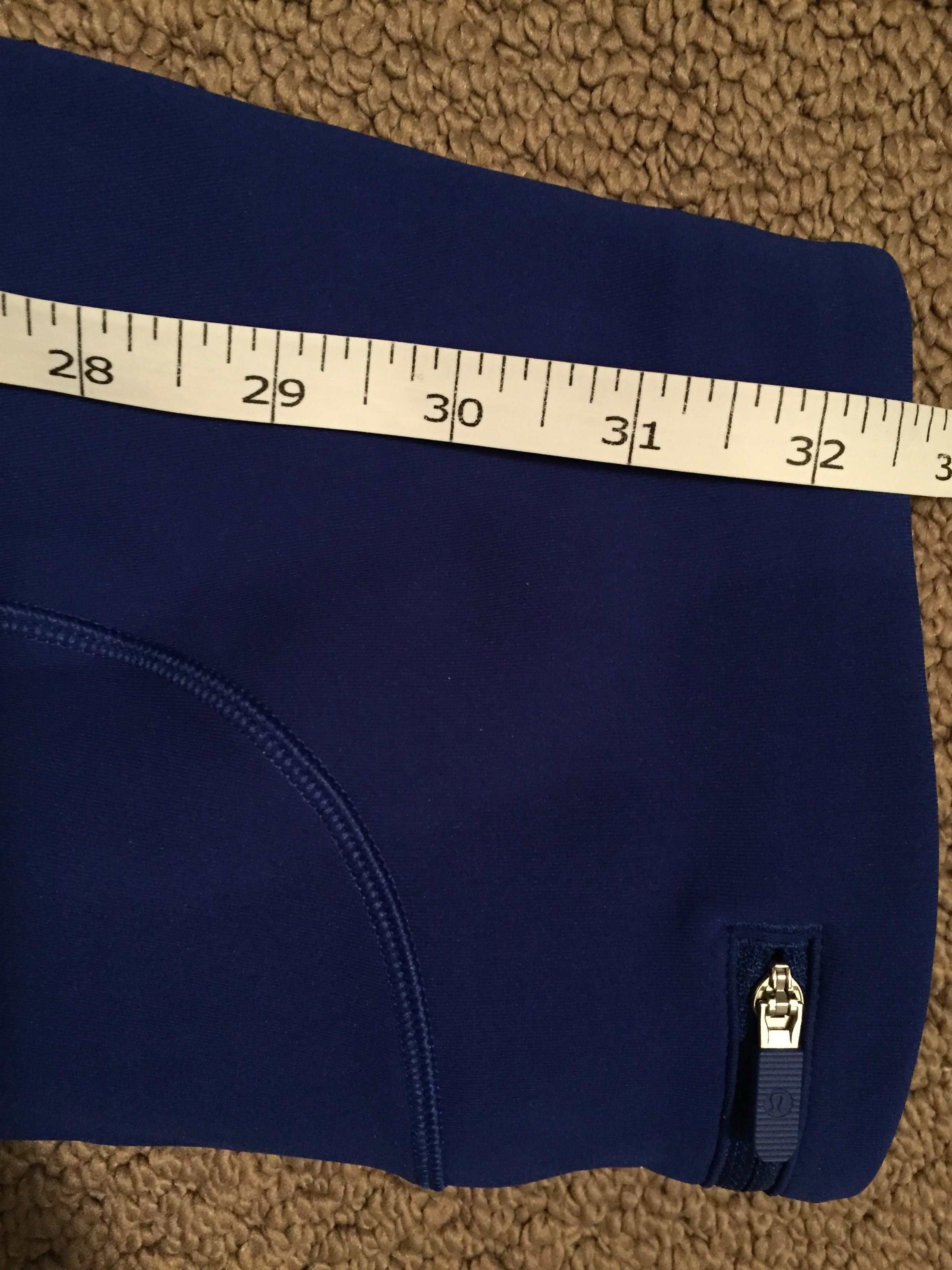 Lululemon Speed Up Tight Full-On Luxtreme Jet Stream - size 2 (excellent  condition, tags removed) from sweetcupcakes