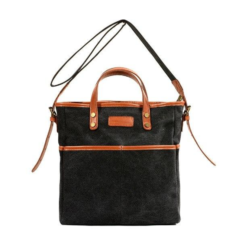 65c16722ea2 ... Casual Women Designer Leather Big Shoulder Messenger Tote Bag Handbag  Wide Strap Vintage Bags - Thumbnail ...
